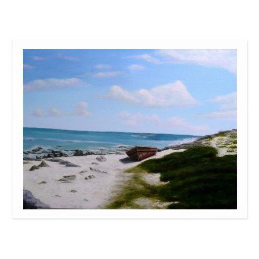 Solitude in Cancun Post Cards