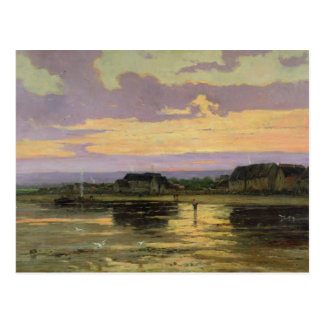 Solitude in the Evening, Morsalines Postcard