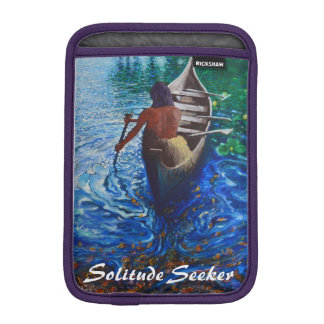Solitude Seeker iPad Mini Sleeve