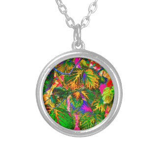 solleafs silver plated necklace