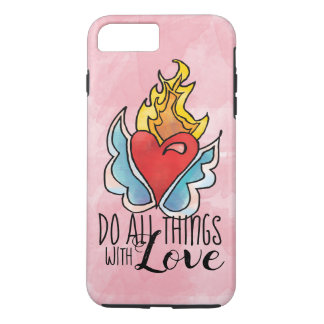 Solma's Heart is on Fire iPhone 8 Plus/7 Plus Case