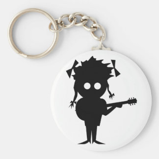 Solo Singer Keychain