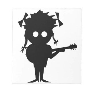 Solo Singer Notepad