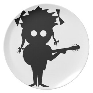 Solo Singer Party Plate