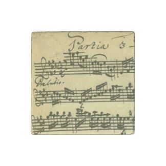 Solo Violin Partita Excerpt Stone Magnets