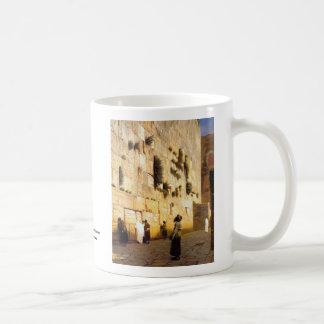 Soloman's Wall Jerusalem, Jean-Leon Gerome Coffee Mug