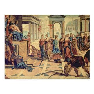 Solomon and the Queen of Sheba Postcard