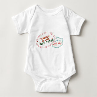 Solomon Islands Been There Done That Baby Bodysuit
