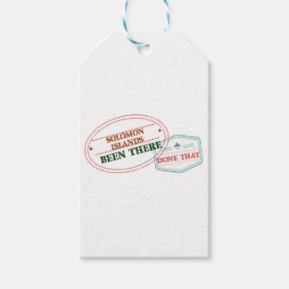 Solomon Islands Been There Done That Gift Tags