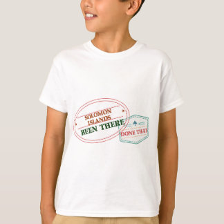 Solomon Islands Been There Done That T-Shirt