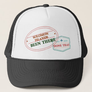 Solomon Islands Been There Done That Trucker Hat
