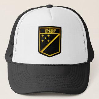 Solomon Islands Emblem Trucker Hat