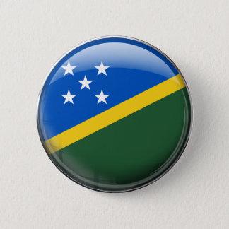 Solomon Islands Flag 2 Inch Round Button