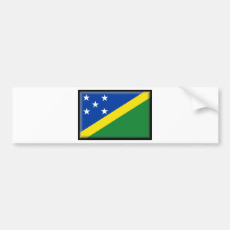 Solomon Islands Flag Bumper Sticker