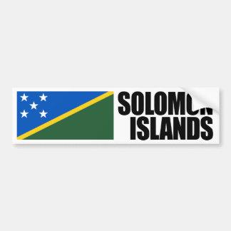 Solomon Islands Flag Bumper Sticker