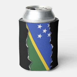 Solomon Islands flag Can Cooler