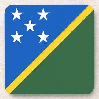 Solomon Islands Flag Drink Coaster