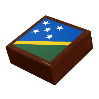 Solomon Islands Flag Gift Box