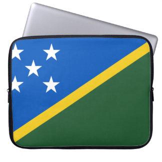 Solomon Islands Flag Laptop Sleeve