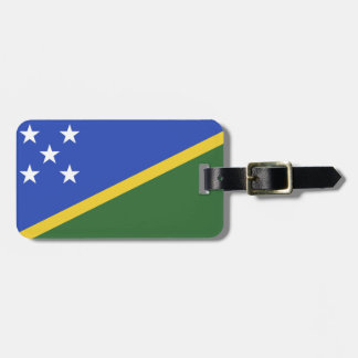 Solomon Islands flag Luggage Tag