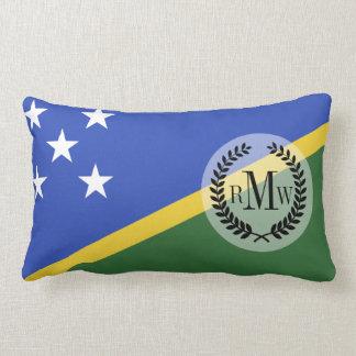 Solomon Islands flag Lumbar Pillow