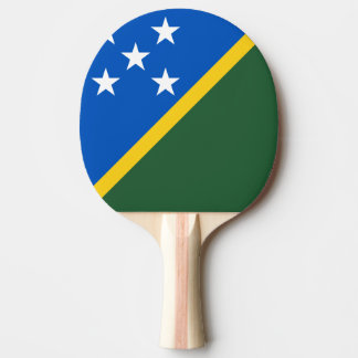 Solomon Islands Flag Ping Pong Paddle