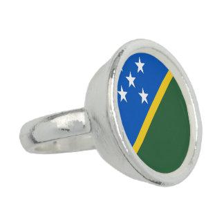 Solomon Islands Flag Rings
