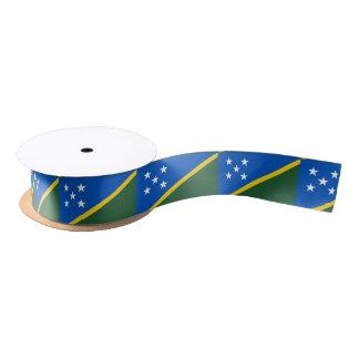 Solomon Islands Flag Satin Ribbon