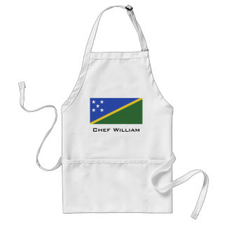 Solomon Islands flag Standard Apron