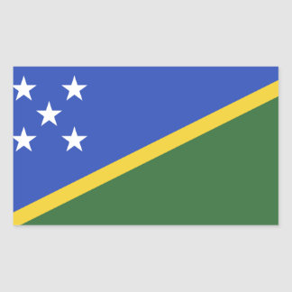 Solomon Islands flag Sticker
