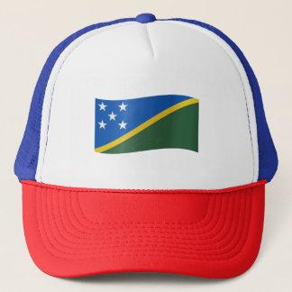 Solomon Islands Flag Trucker Hat