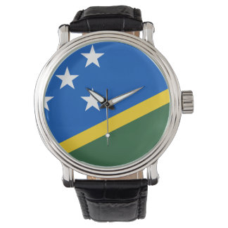 Solomon Islands Flag Watch