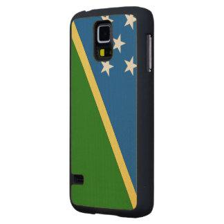 Solomon Islands Flag Maple Galaxy S5 Slim Case