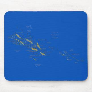 Solomon Islands Map Mousepad
