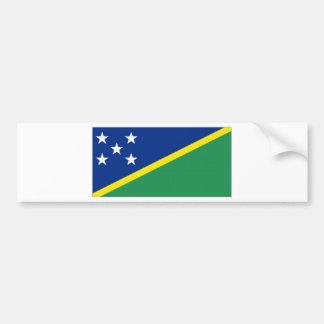 Solomon Islands National Flag Bumper Stickers