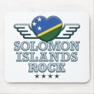 Solomon Islands Rock v2 Mouse Pad