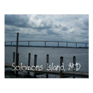 Solomons Island, MD Postcard