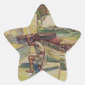 solomontemplemason star sticker