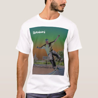 Solorized skateboarder  T-Shirt