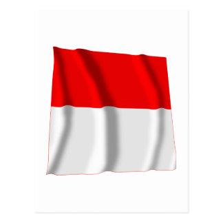Solothurn Waving Flag Postcard