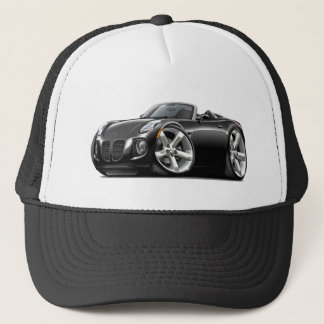 Solstice Black Convertible Trucker Hat