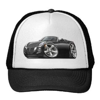 Solstice Black Convertible Trucker Hat