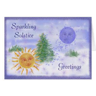 Solstice Greetings Card
