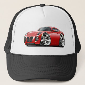 Solstice Red Car Trucker Hat
