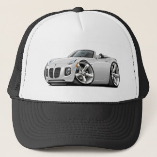 Solstice White Convertible Trucker Hat