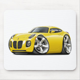 Solstice Yellow Car Mouse Pad