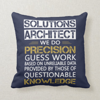 SOLUTIONS ARCHITECT THROW PILLOW