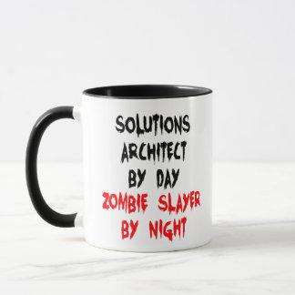 Solutions Architect Zombie Joke Mug