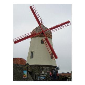 Solvang Windmill Postcard