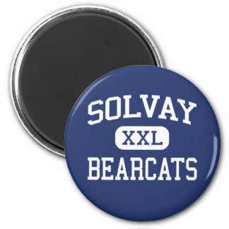 Solvay Bearcats Middle Syracuse New York 2 Inch Round Magnet